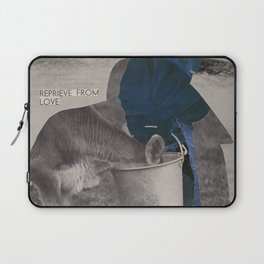 What does the world look like without anxiety and fear? Laptop Sleeve