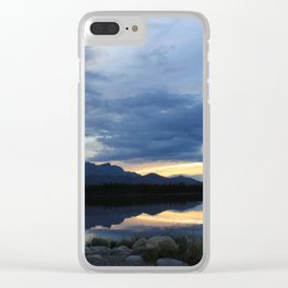 Horseshoe lake Clear iPhone Case