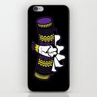 katamari iPhone & iPod Skins featuring Katamari Damacy King by La Manette