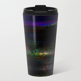 dark rainbow Travel Mug