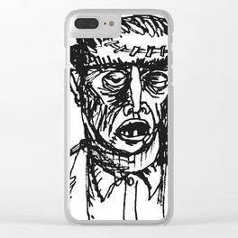 Fwankenstime's Monster Clear iPhone Case