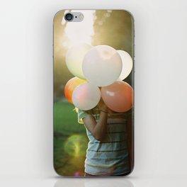 balloon head iPhone Skin