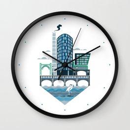 The Riverside Quarter Wall Clock