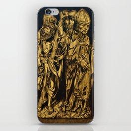 Medieval Wood Carving iPhone Skin