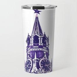 Kremlin Chimes-violet Travel Mug