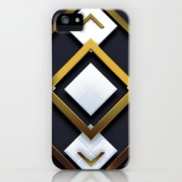 Light Dark and Gold 01 iPhone Case