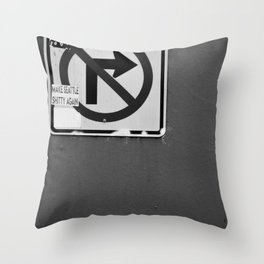 Make Seattle Shitty Again Throw Pillow