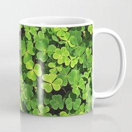 St.Patrick's Day Clover Pattern Coffee Mug