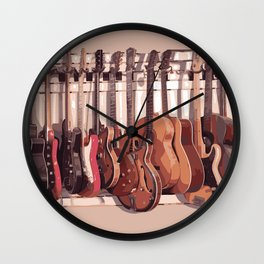 I love your voice Wall Clock