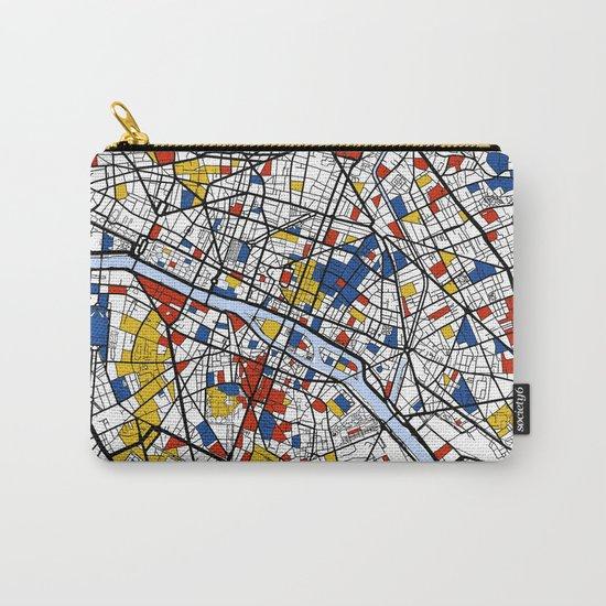 Paris Mondrian Carry-All Pouch