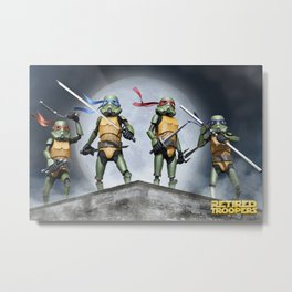 T.M.N.TROOPER Metal Print