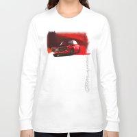 gta Long Sleeve T-shirts featuring Alfa Romeo Giulia Sprint 1600 GTA by Vadim Artemyev