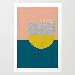Sisi_ 2 abstract art Art Print