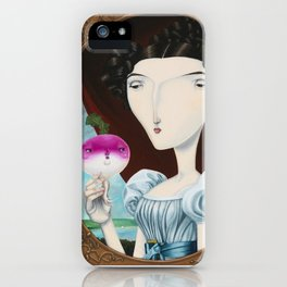 Lady Mary Turnipton iPhone Case