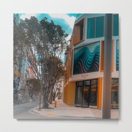 Miami Design District ArtChitecture Metal Print