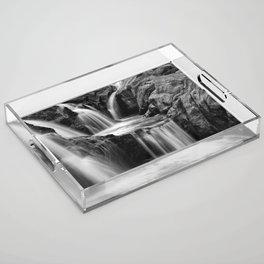 Waterfalls movement Acrylic Tray