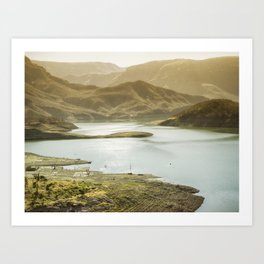Mountainous landscapes of Copper Canyon, Chihuahua, Mexico Art Print