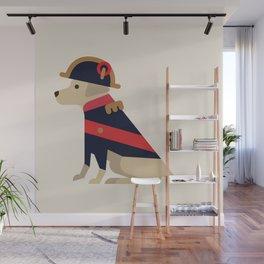 Napoleon, dog emperor Wall Mural