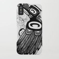 Raven Steals the Water iPhone X Slim Case