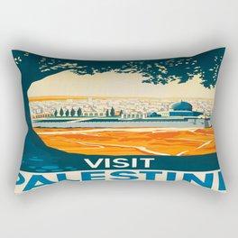 Vintage poster - Palestine Rectangular Pillow