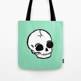 Emo Skull Tote Bag