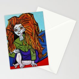 MIRANDA  WITH ATTITUDE Stationery Cards