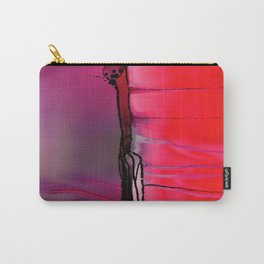 Anatomy goth jellyfish alcohol ink Carry-All Pouch