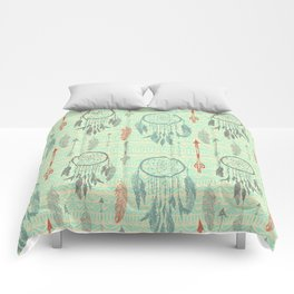 Hipster dream Comforters
