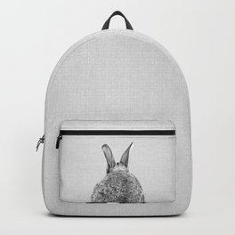 Rabbit Tail - Black & White Backpack