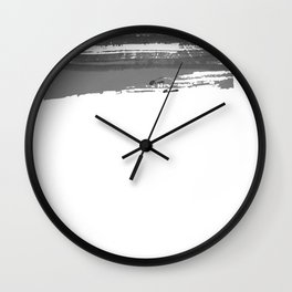 Snow landscape #winter Wall Clock