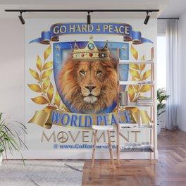 Go Hard 4 Peace, Love & Unity Wall Mural