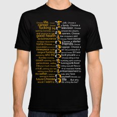 Trainspotting 2 Black SMALL Mens Fitted Tee