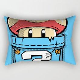 Mushroom toad Rectangular Pillow