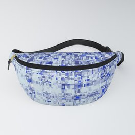 Abstract Architecture Blue Fanny Pack