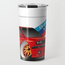 DIGITAL RAWING CARTOON CAR Travel Mug