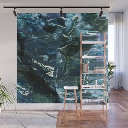 WATER WITH ICECUBES Wall Mural
