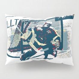 Goalie - Ice Hockey Player Pillow Sham