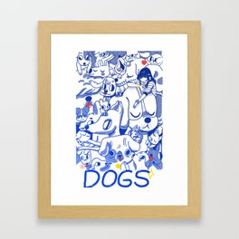 Dogs✧ Framed Art Print