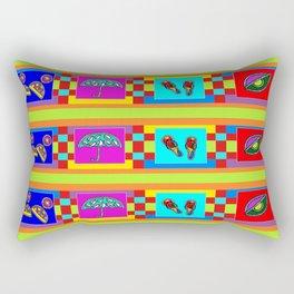 EYE UMBRELLA  BEACH PATTERN Rectangular Pillow