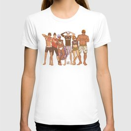 Voltron - Beach Volleyball T-shirt