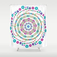 chemistry Shower Curtains featuring Chemistry fun by Mi Nu Ra