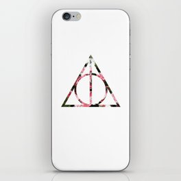 The Girly & Deathly Hallows iPhone Skin