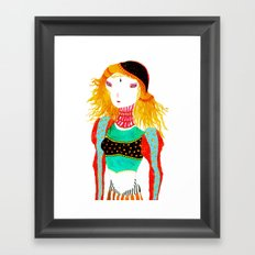 Shonali Framed Art Print