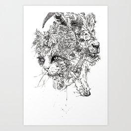 FAMILIARS Art Print