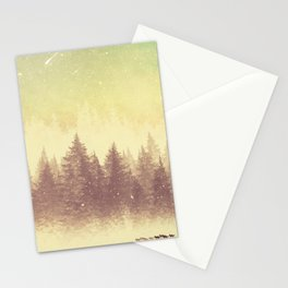 Winter's Journey  Stationery Cards