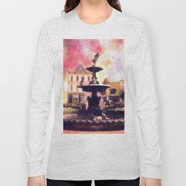 Fountain Square Park Long Sleeve T-shirt