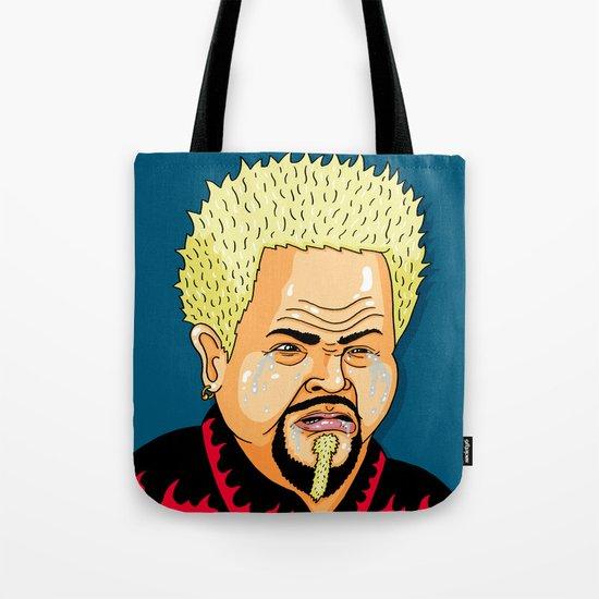 Cry Fieri Tote Bag