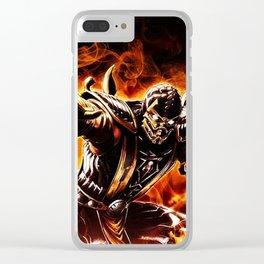 ninja Clear iPhone Case