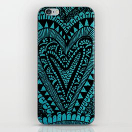 Alo Hearts iPhone Skin
