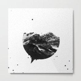 Dust Mountain Metal Print